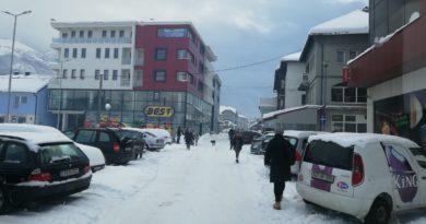 Gornji Vakuf – Uskoplje: Otežano prometovanje zbog snijega na lokalnim putevima