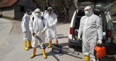 Gornji Vakuf – Uskoplje: Izvršena dezinfekcija u dva naselja