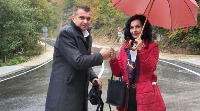 Završena rekonstrukcija regionalnog puta Novi Travnik – Gornji Vakuf-Uskoplje