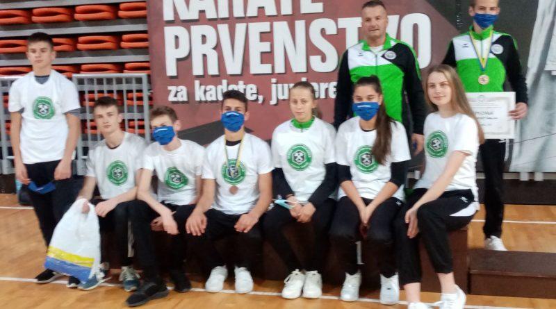 Dvije medalje za KK Slogu  na Federalnom prvenstvu za kadete, juniore i U21