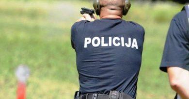 Policijska stanica Gornji Vakuf – Uskoplje: Obavijest o bojevom gađanju