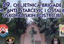 NAJAVA: 29. obljetnica brigade dr. Ante Starčević i ostalih uskopaljskih postrojbi