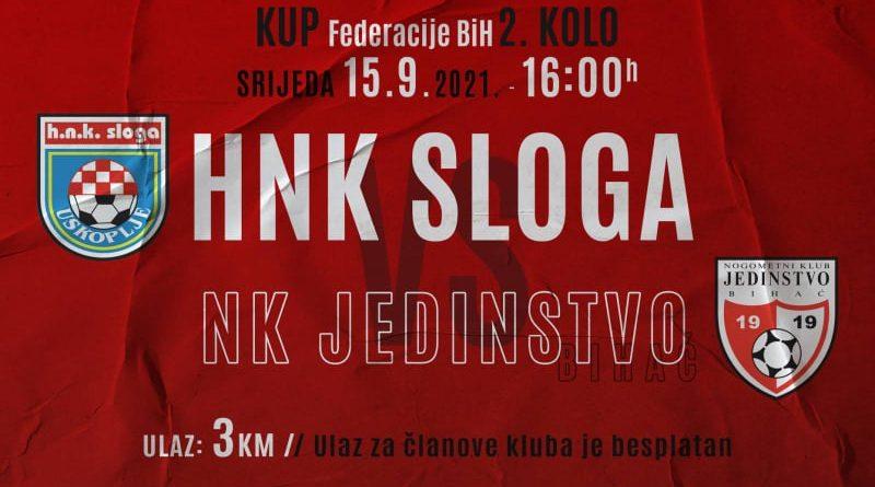 HNK Sloga- NK Jedinstvo-KUP NS FBiH